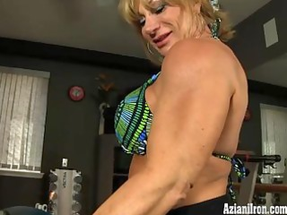 aziani steel kat connors nude workout.