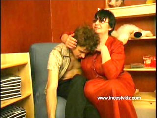 russian mommy seduces her son