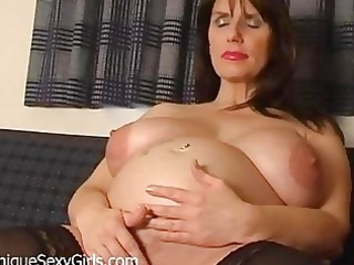 fetish milf dilettante way-out vagina stretching