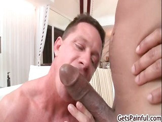 aged muscle boy engulfing dark penis part6