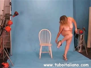 pleasing plump italian mother i makes love with