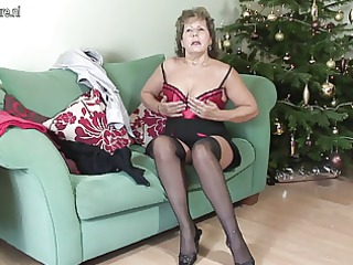 older british housewife being wicked on her