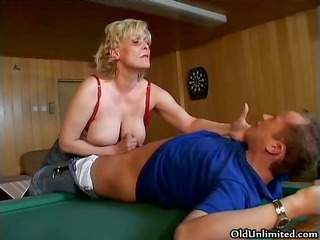 wicked excited old mom with large part6