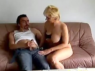 eager old mamma gets fucked hard and jizz flow on