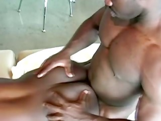 muscled ebon fucking his dark brother from