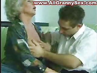 110 years old granny fucked