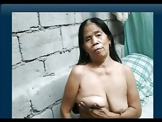 111yr old filipina granny receives naked on web