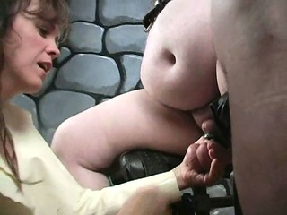 bizarre older femdom mother i way-out cbt fetish