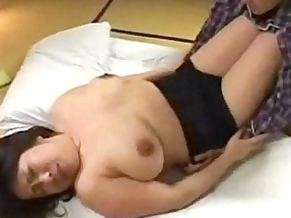 breasty fat milf getting her tits rubbed cunt