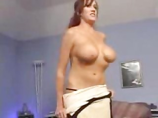 hot mother bailey creamed by younger guy